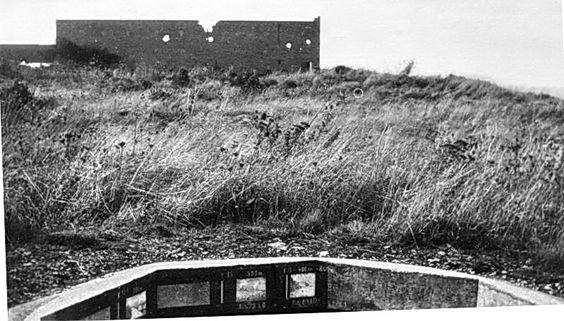 WN73, position de mortier vers l'Ouest.