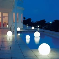 Floating wireless LED speaker globes? Well, if they sound as good as they look...