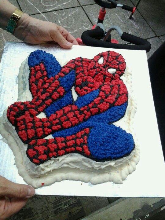 Rob's Birthday cake. Homemade :)