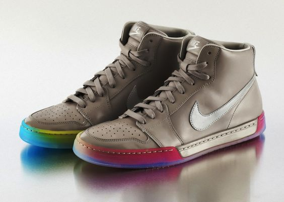 Nike shoes created to celebrate Pride