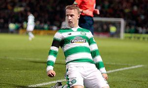 FC Astana accuse Celtics Leigh Griffiths of punching defender Igor Shitov