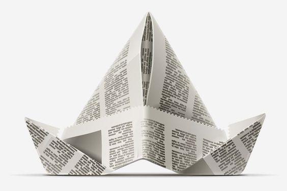 Origami Manualidades para Niños - Origami Sombrero