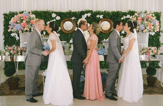 Casamento Duplo de Carol e Davi e Camila e Felipe