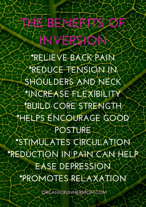 Click here to find out more about the benefits of inversion on your health and wellness.: