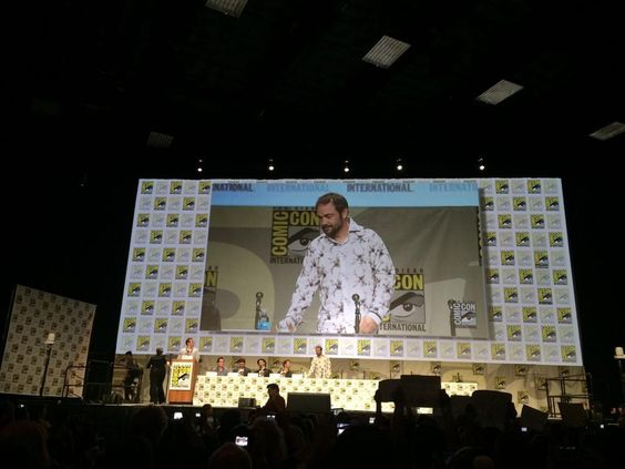 Mark on stage!!!! :) #CWSDCC2014