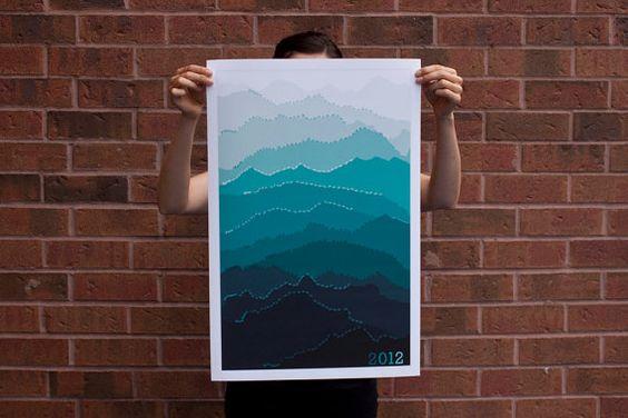 love that mountain calendar!