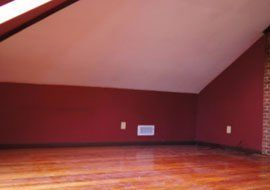 Should I Repaint the Red Walls in Loft-Style Living Room? — Good Questions