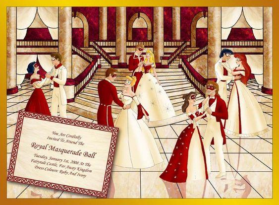 Disney Masquerade Ball by ~literary-magic