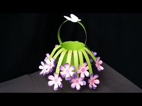Diy How To Make Beautiful Flower Bouquet With Colour Paper