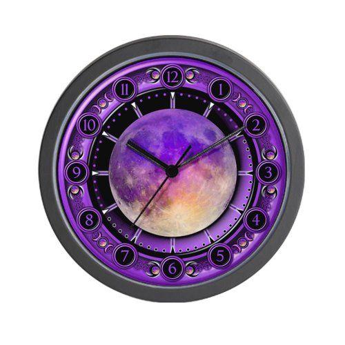 Clock of the Purple Moon Wall Clock CafePress http://www.amazon.com/dp/B009YAFONU/ref=cm_sw_r_pi_dp_iVePub1WY79QM