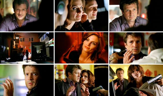 Beckett: Him, a cop? Don't make me laugh. He's barely even a man  Castle: Beckett?  Beckett: But you are a man, aren't you. A very handsome man. Richard, are you bothering this handsome man?  Guy: Go away  Beckett: Okay! Boys and their guns, am I supposed to be impressed?  Guy: This doesn't concern you.   Beckett: Actually...it does  Castle: (whispering) Is it just my imagination, or did you change?