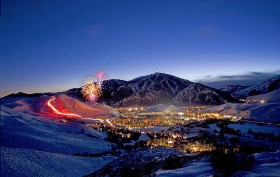Sun Valley, Idaho. #fireworks.