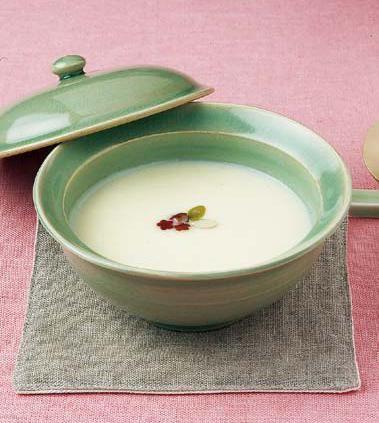 Goguma Juk, (sweet potato porridge)