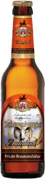 Schaumburger Erntedank-Bock - Das dunkel-untergärig abgefüllte Bier lebt von seiner aromatisch-dunkelmalzigen Note. Es besticht durch seine kräftige Farbe, die kupfergold-warmrot im Glas leuchtet.