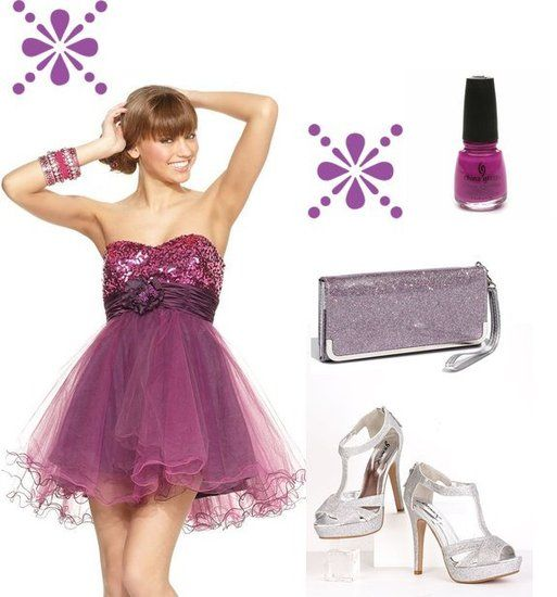 Accessories for Purple Prom Dress - My Love Fashions - Pinterest ...