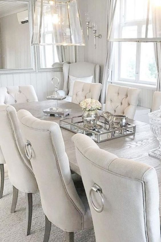Silver Elephant Candle Luxury Dining Room Dining Room Design Dinning Room Decor