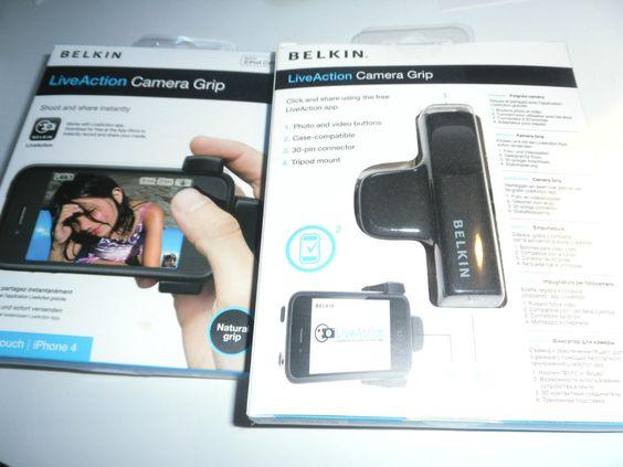Belkin - Live Action Camera Grip    OVP / NEU