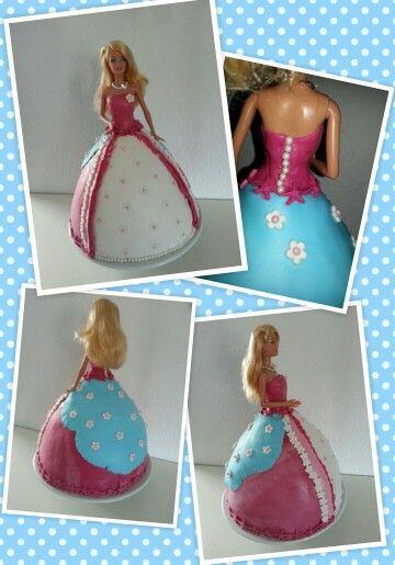 Barbie Torte für Lilly
