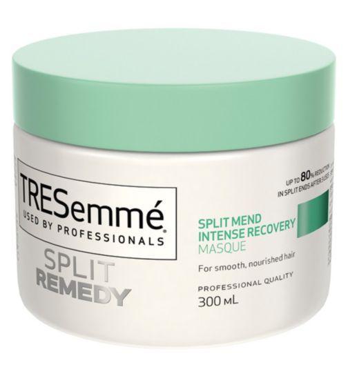 Tresemme Split Remedy Split Mend Intense Recovery Masque 300ml Boots Tresemme Remedies Intense