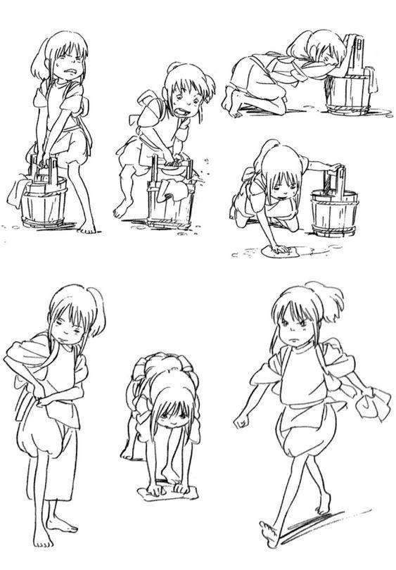 Animation Tidbits • Spirited Away - Chihiro