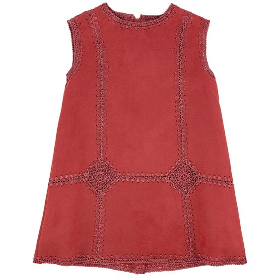 Synthetic suede Synthetic lining Pleasant to the touch Sleeveless shape Crew…