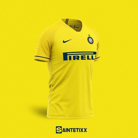 Classy Nike Inter Milan 20 21 Concept Kits By Saintetixx Footy Headlines In 2020 Soccer Shirts Inter Milan Shirts