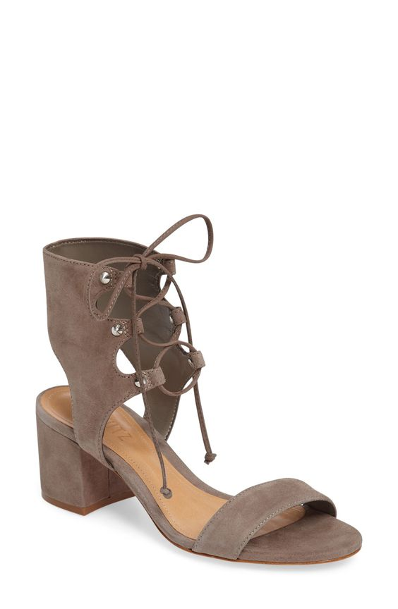 Schutz Darby Lace-Up Sandal