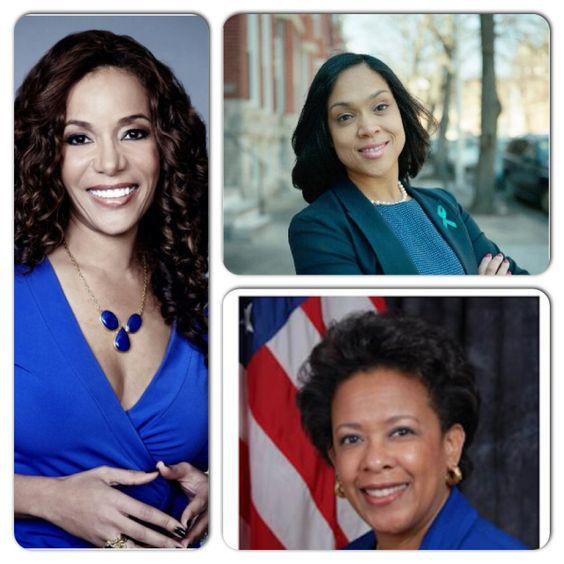 Marilyn Mosby, Loretta Lynch, Sunny Hostin: Black female leaders in law