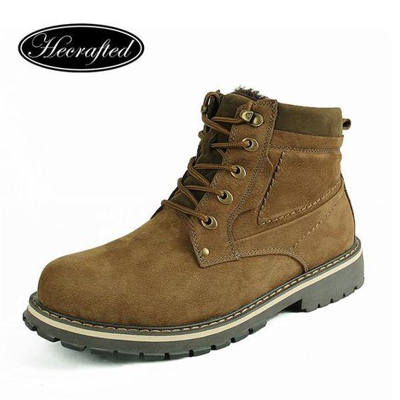 Теплая зимняя обувь без меха