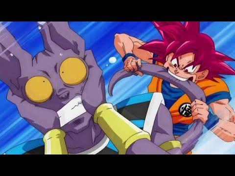 غوكو يضهر قوة زعيم سايان المذهل ضد بيروس عربي مدبلج دراغون بول سوبر الحلقة 11 عربي مدبلج Youtube Goku Vs Beerus Dragon Ball Super Goku Goku