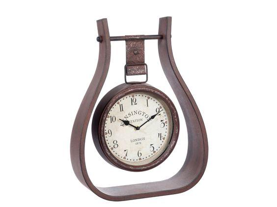 Entdeckt bei Klebefieber.de; Uhr in Rahmen hängend 35x12x46, 79,00 EUR