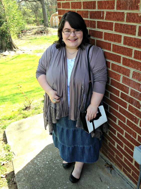 Unique Geek: Plus Size OOTD: Over The Taupe:
