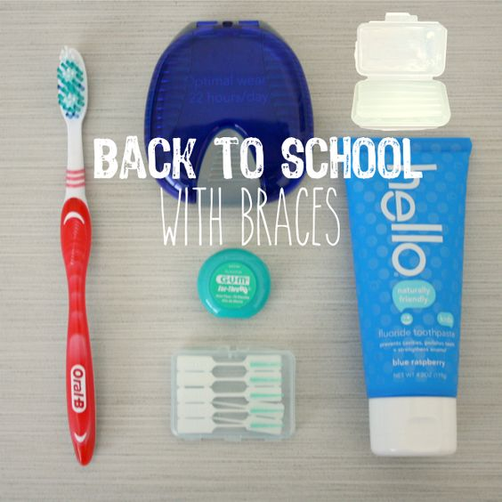 Back to School with Braces // Life Anchored #ad: