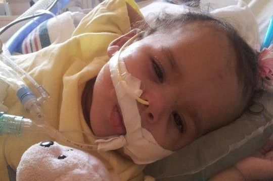 Help support Rare Condition left BabyLaylah paralyzed  .