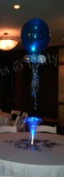 Fiberoptic lighted balloon centerpiece. #lighted balloon decor #lighted-balloon-decor #lighted balloon column #lighted-balloon-column #balloon decor with lighting #balloon-decor-with-lighting #balloon column with lighting #balloon-column-with-lighting #lighted balloon arch #lighted-balloon-arch #balloon-arch-with-lighting #balloon arch with lighting