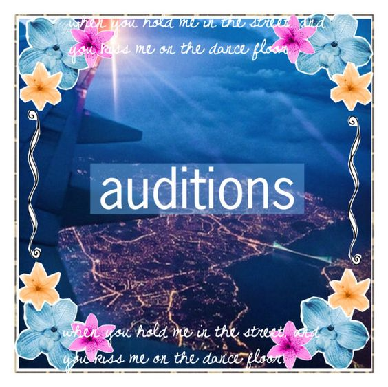 """""""RULES AND AUDITIONS!"""" by daltonsprincess ❤ liked on Polyvore featuring beauty"""