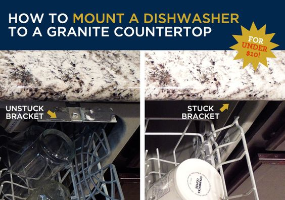 Dishwasher Granite Countertop : howto granite countertop howto countertop desert granite countertop ...