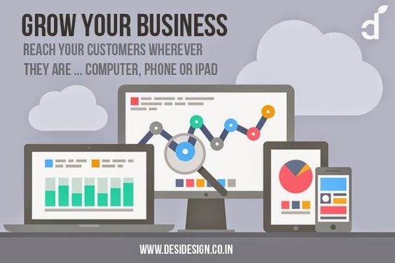 The number of mobile users checking for the businesses online has increased over the years. Great user experience can be provided across many devices and screen sizes in responsive design. This means content is created once and delivered to multiple devices.: