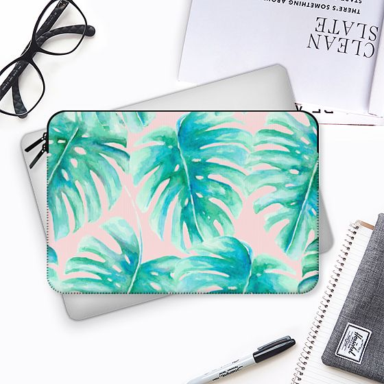 Paradise Palms Blush - MacBook Tasche