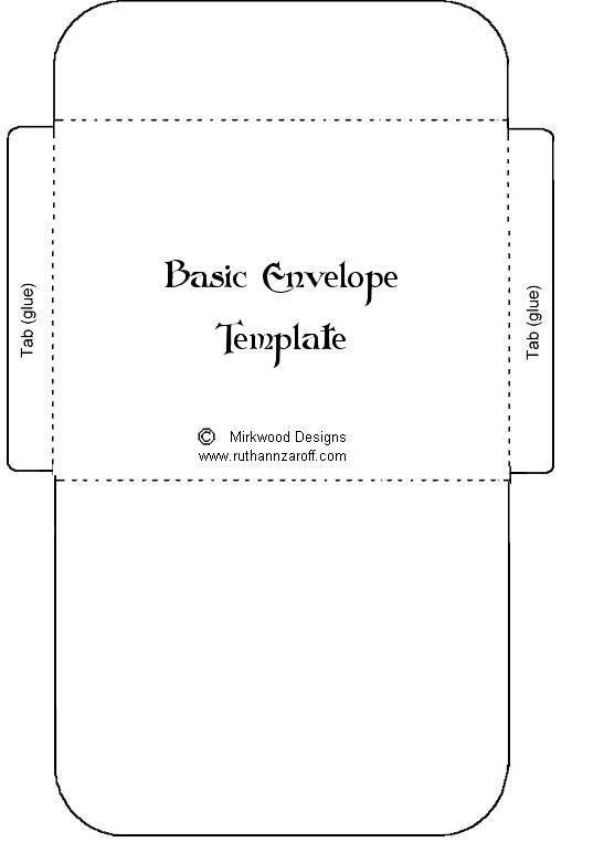 Basic Envelope Template