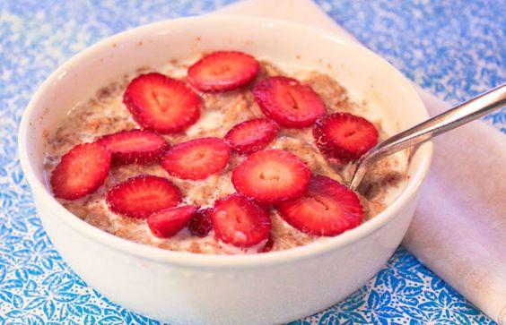 Strawberry Shortcake Oatmeal