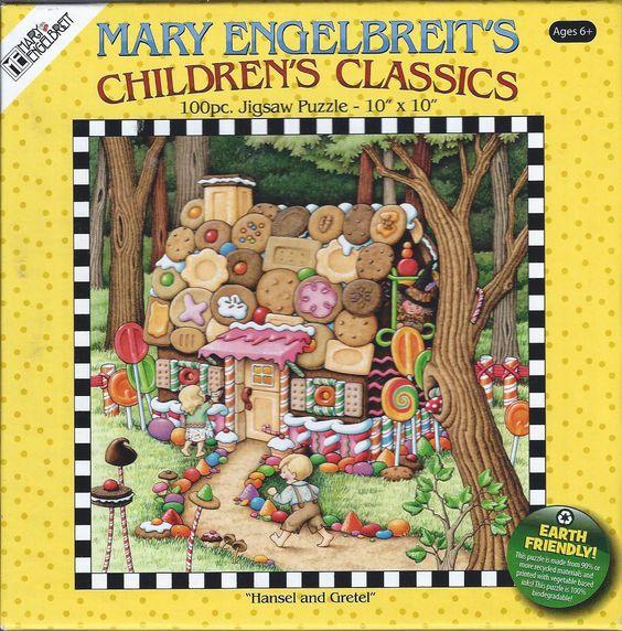 Mary Engelbreit's Puzzle Collection Children's Classics 100 Pcs Hansel Gretel | eBay