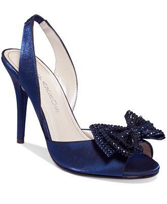 Caparros Jinelle Slingback Evening Pumps - Caparros - Shoes - Macy's