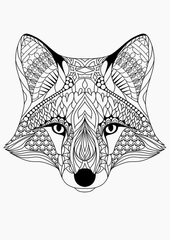 Coloriage De Mandala Danimaux.Mandala A Imprimer Animaux Depu Vi