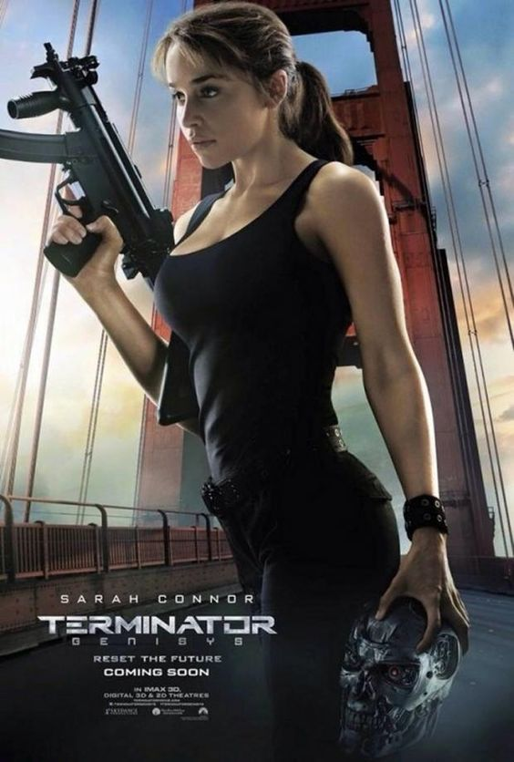 Terminator: Genisys - Five new character posters land. Emilia Clarke - Sarah Connor