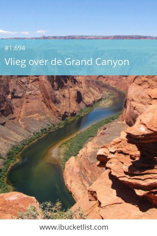 Vlieg over de Grand Canyon. Je hebt zeker twee dagen nodig om de Grand Canyon te ontdekken, want er zijn tientallen uitzichtpunten en veel verschillende routes. Bewonder het gebied van bijna 5.000 km2 eens vanuit een helikopter. De Grand Canyon is adembenemend mooi vanuit de lucht. Wacht niet tot later, leef nu je bucketlist! Maak je dromen waar.