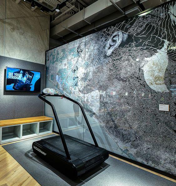 Nike Magasin Experience 6 Nike ouvre un magasin/salle de sport pour tester les performances de vos achats