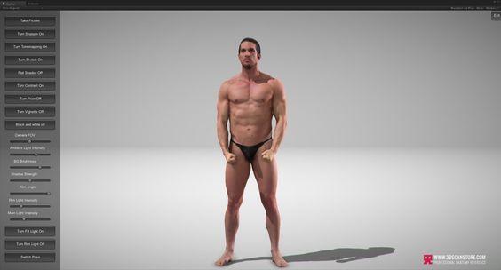 Realtime 3D Anatomy Reference, James Busby on ArtStation at http://www.artstation.com/artwork/realtime-3d-anatomy-reference