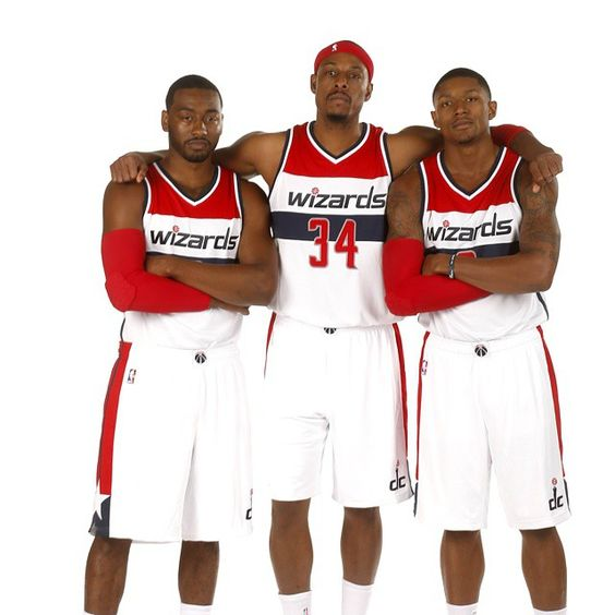 Pierce in his new uni. How far can the Wizards go this season?
