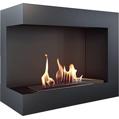 Bio Ethanol Kamin Lecce 600 Links, Bio Ethanol Corner Fireplace